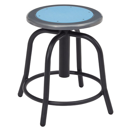 Swivel Stools with Black Frame