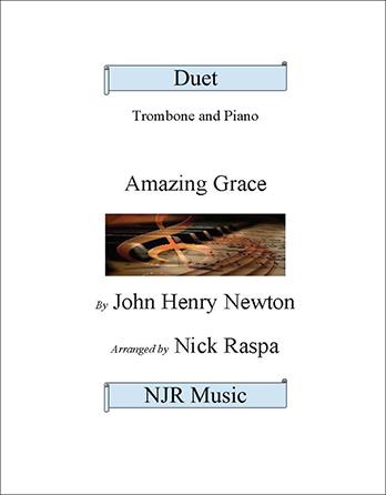 Amazing Grace (Trombone & Piano)