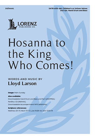 Hosanna to the King Who Comes! church choir sheet music cover
