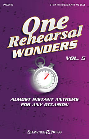 One Rehearsal Wonders, Volume 5 church choir sheet music cover