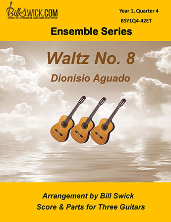 Bill Swick's Year 1, Quarter 4 - Ensembles for Three Guitars
