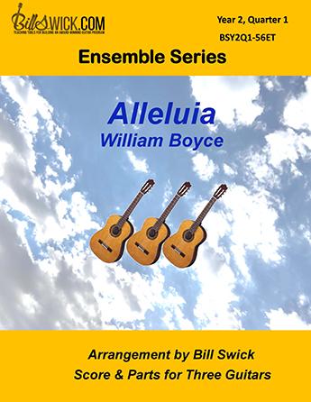 Bill Swick's Year 2, Quarter 1 - Intermediate Ensembles for Three Guitars