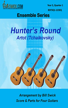 Bill Swick's Year 3, Quarter 1 - Ensembles for Quartets
