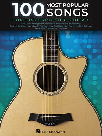 100 Most Popular Songs For Fingerpicking Guitar Cover