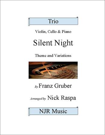 Silent Night (variations) Piano Trio