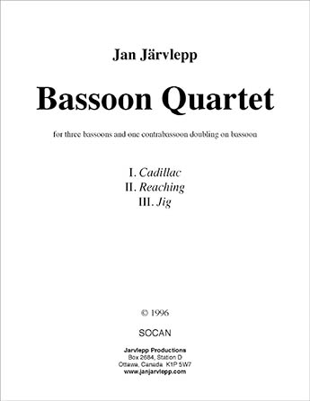 Bassoon Quartet