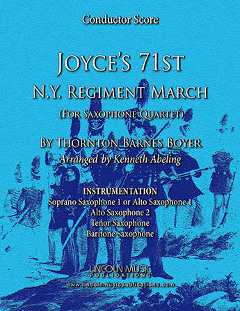 Joyce's 71st N.Y. Regiment March