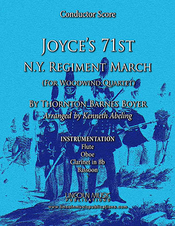 Joyce's 71st N.Y. Regiment March