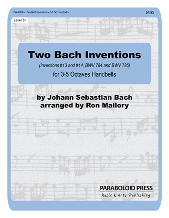 Two Bach Inventions (#13 and #14)