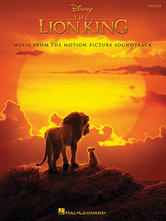 The Lion King 2019 guitar sheet music cover