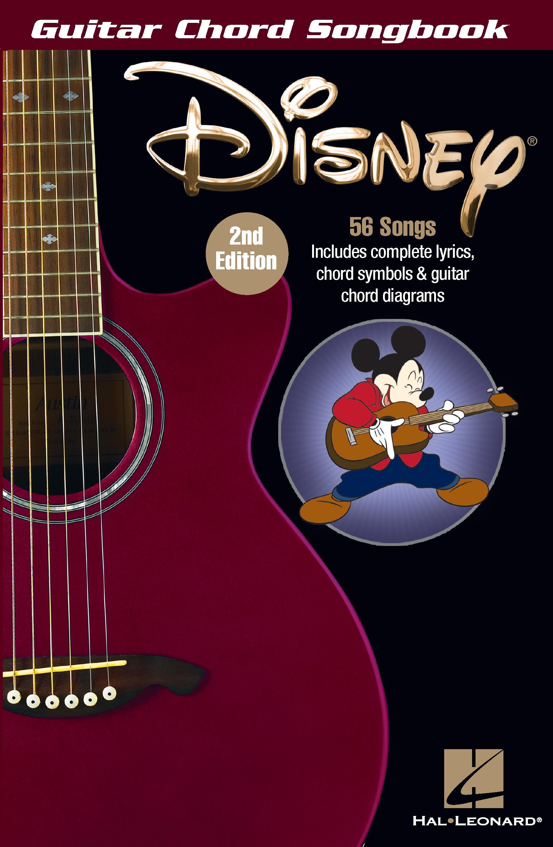 Disney Guitar Chord Songbook
