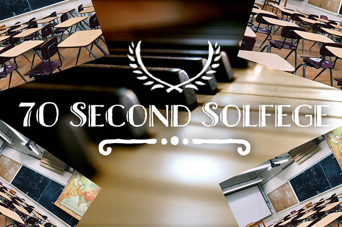 70 Second Solfege Classroom Set Cover
