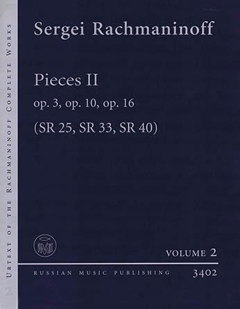 Pieces II Op. 3, Op. 10, Op. 16