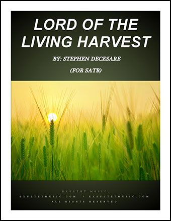 Lord Of The Living Harvest