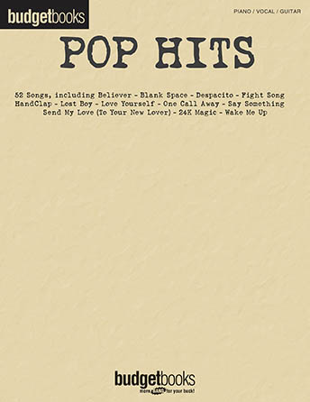 Pop Hits Budget Books