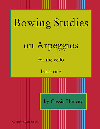 Bowing Studies on Arpeggios for Cello, Book One