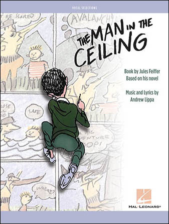 The Man in the Ceiling library edition cover