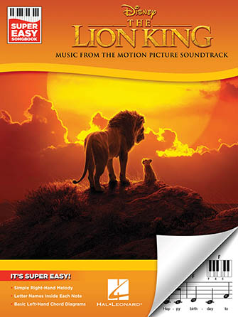 Super Easy Songbook: The Lion King