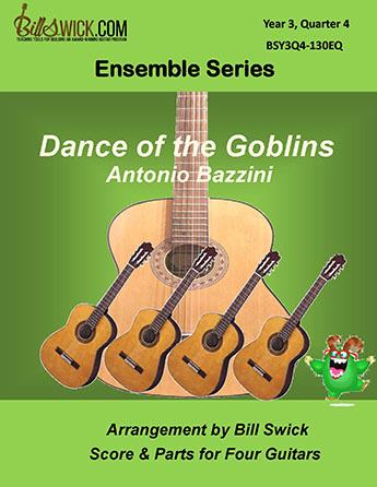 Bill Swick's Year 3, Quarter 4 - Advanced Ensembles for Quartets