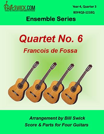 Bill Swick's Year 4, Quarter 3 - Advanced Ensembles for Quartets