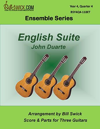 Bill Swick's Year 4, Quarter 4 - Advanced Ensembles for Three Guitars