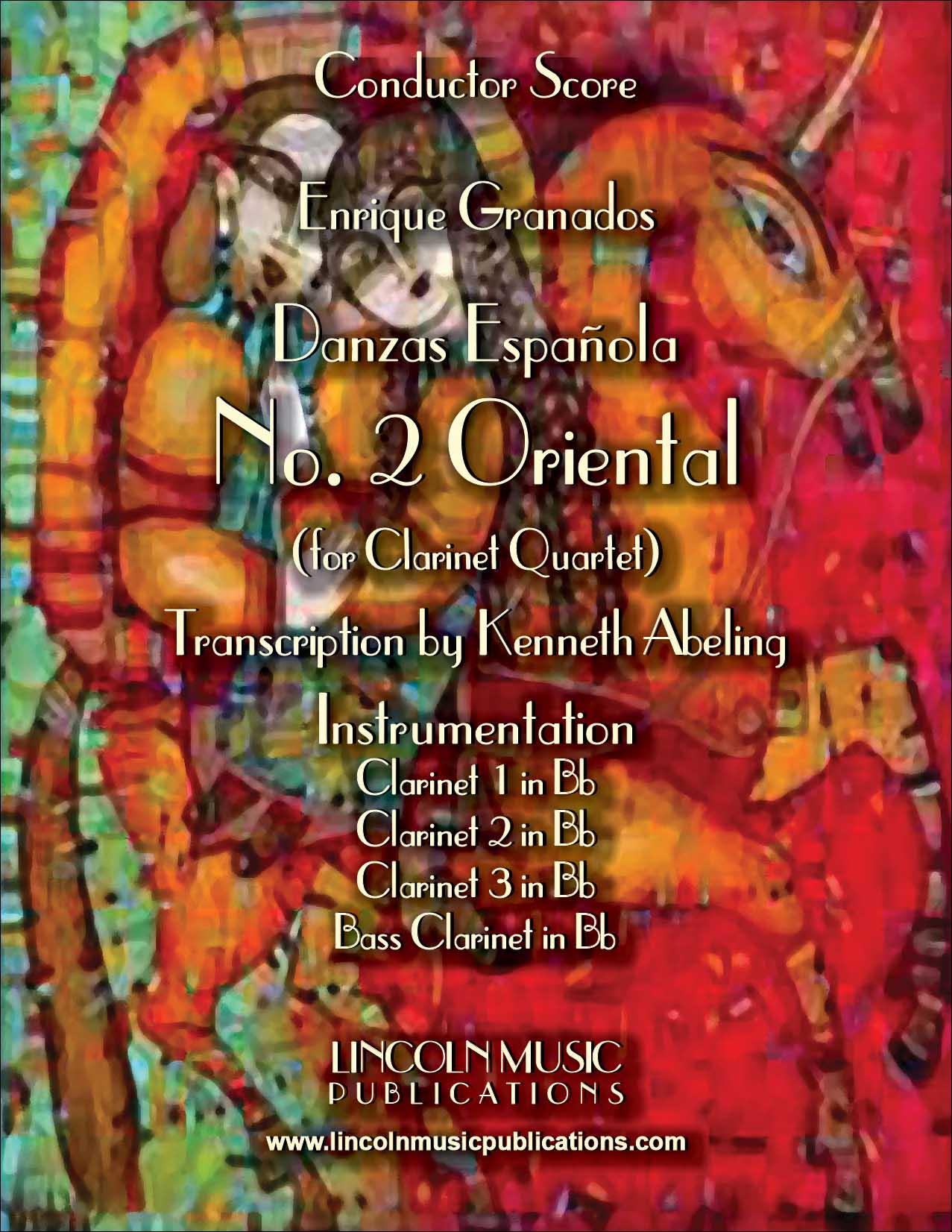 """Danza Española - No.2 """"Oriental"""""""