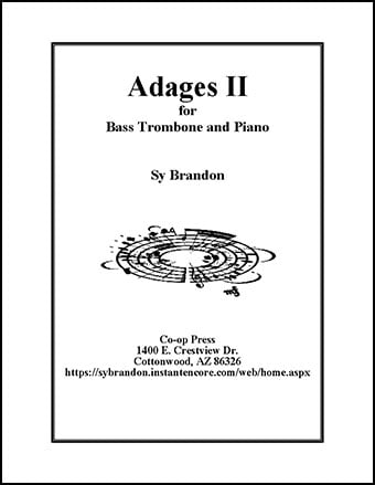 Adages II for Bass Trombone and Piano