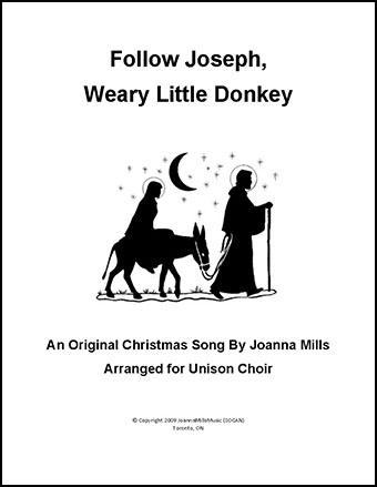 Follow Joseph, Weary Little Donkey