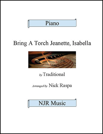 Bring A Torch Jeanette, Isabella (adv int piano) Thumbnail