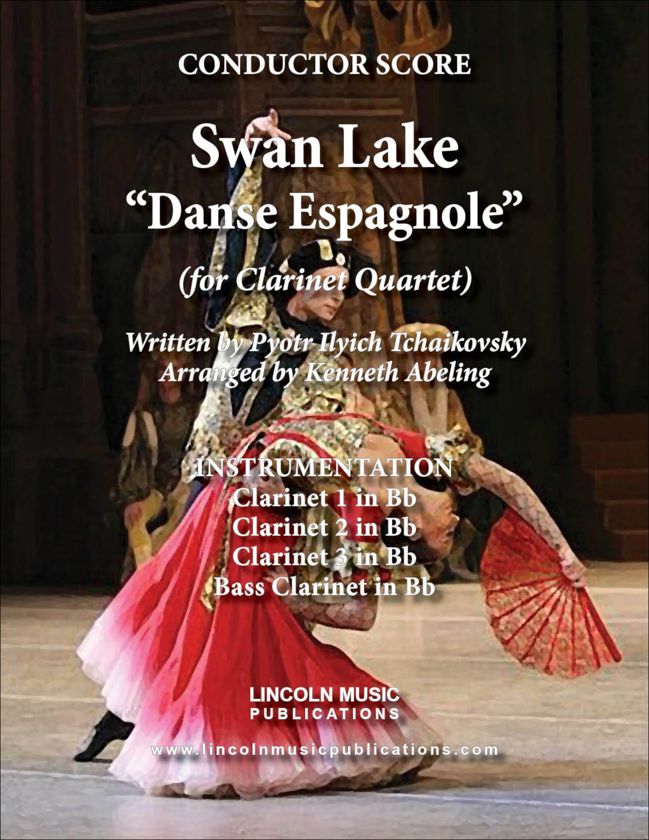 Danse Espagnole from Swan Lake
