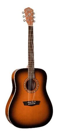 Washburn Dreadnaught Acoustic Guitar