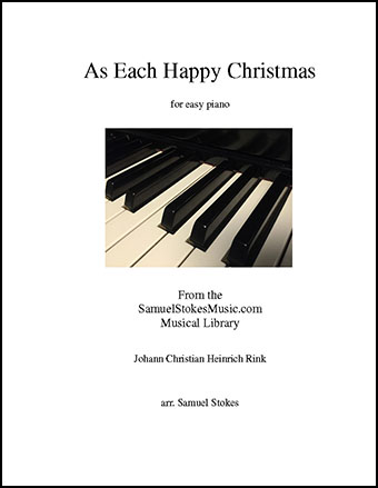 As Each Happy Christmas - for easy piano