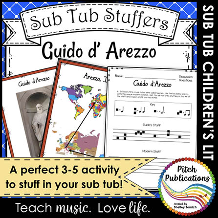Music Sub Tub Stuffers: Guido d'Arezzo