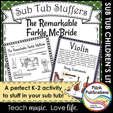 Music Sub Tub Stuffers: The Remarkable Farkle McBride