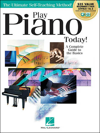 Play Piano Today! with Online Audio Access