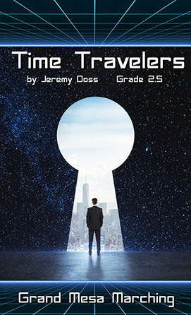 Time Travelers marching band show cover