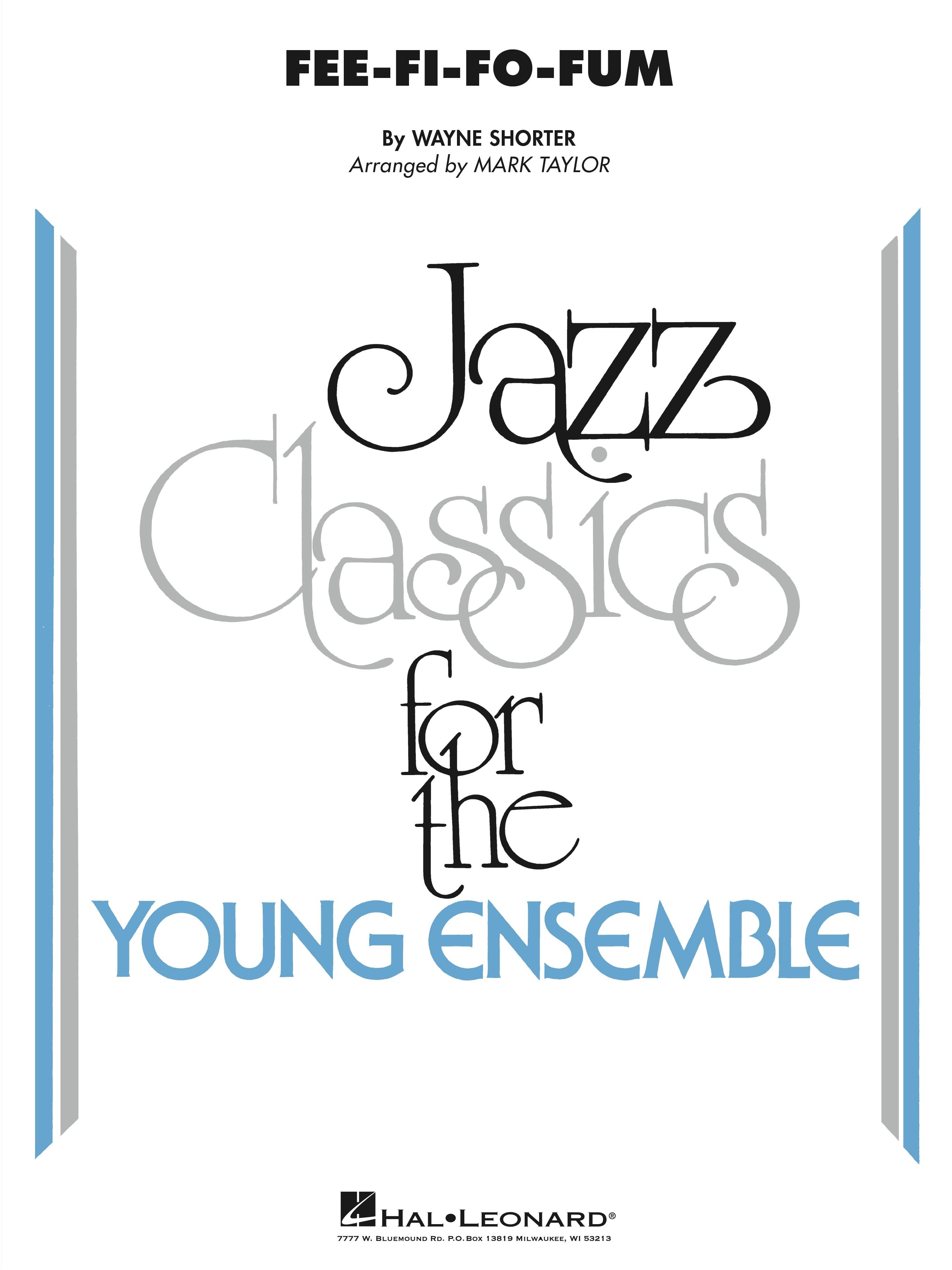 Fee-Fi-Fo-Fum jazz sheet music cover