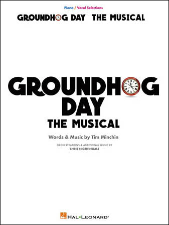 Groundhog Day The Musical library edition cover