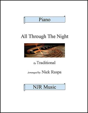 All Through The Night (intermediate piano)