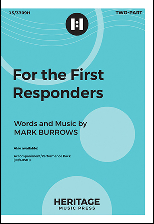 For the First Responders choral sheet music