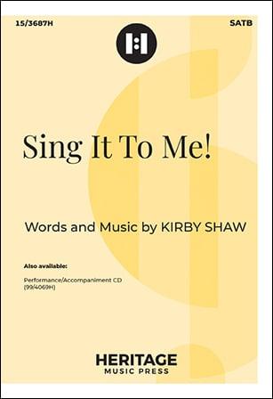 Sing it to Me!