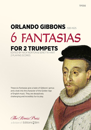 6 Fantasias for 2 Trumpets