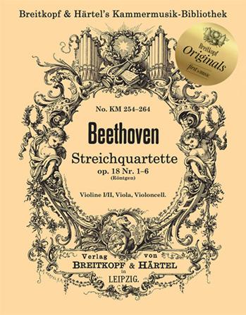 String Quartets, Op. 18 No. 1-6