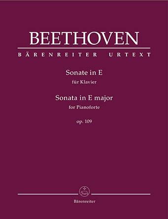 Sonata in E Major, Op. 109