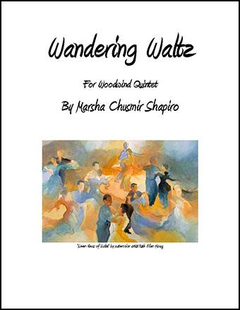 Wandering Waltz for Woodwind Quintet