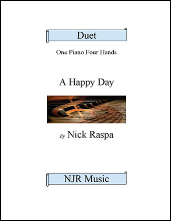 A Happy Day (elementary piano duet)