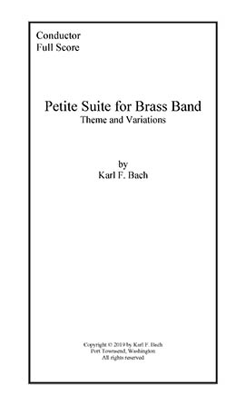 Petite Suite for Brass Band Thumbnail