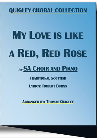 My Love is Like a Red,Red rose