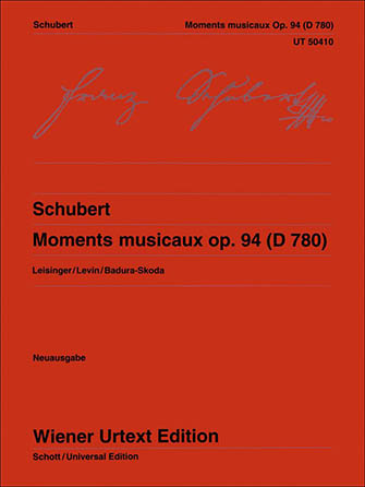Moments Musicaux, Op. 94 (D 780)