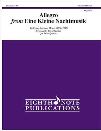 Allegro from Eine Kleine Nachtmusik Brass Quintet